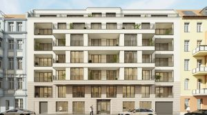 Winterfeldtplatz附近的带阳台和露台的三居室公寓
